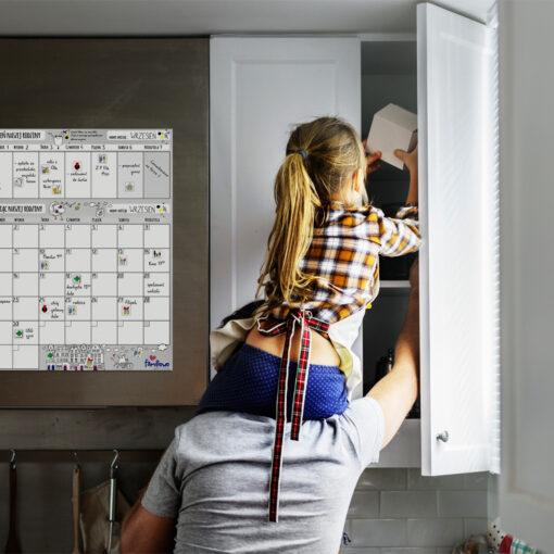 planer zmywalny na ścianę