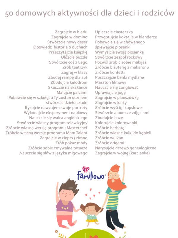 aktywności dla dzieci