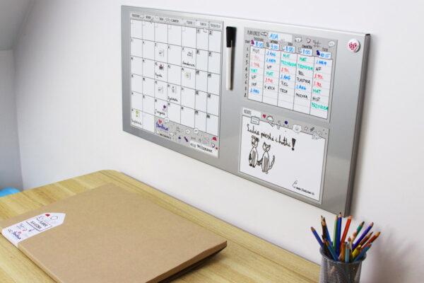 Planery dla ucznia Magnetic - na tablicę magnetyczną